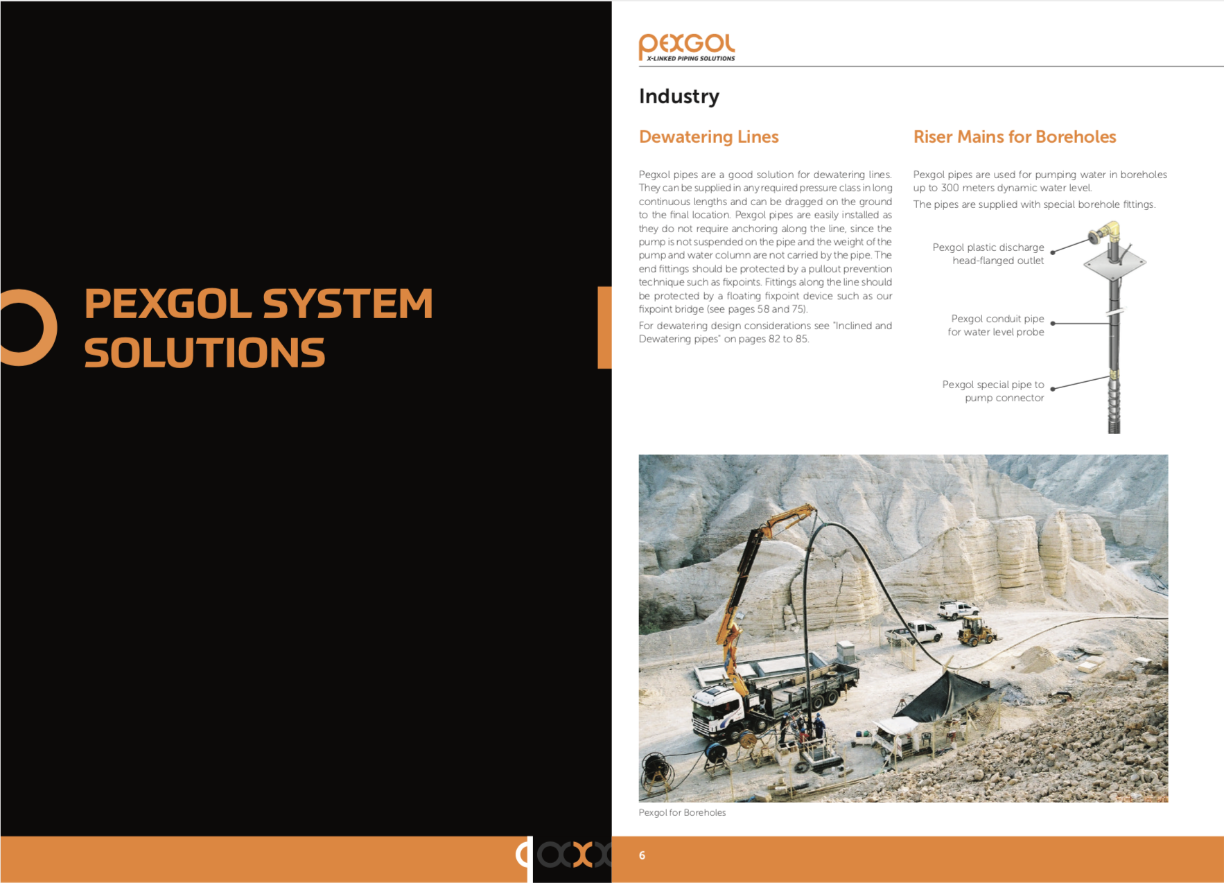 Inside of Engineering Guide, Pexgol System Solutions